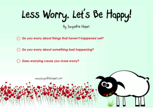 worry anxiety ebook