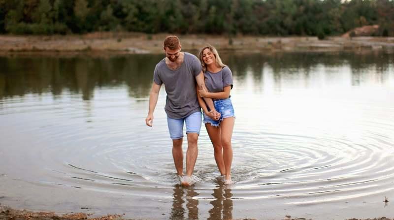 couple flooding