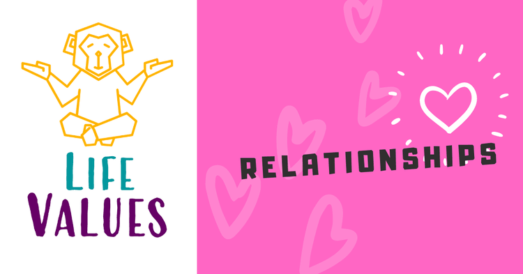 life values relationships cover