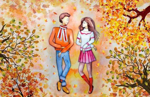 couple love walk